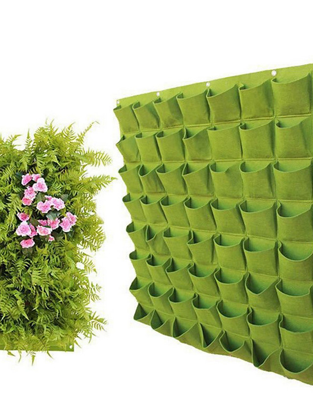 Supply Wall-mounted Felt Plant Bag Planting Bag Wall Greening Plant Cultivation Bag Gardening Bag Non-woven Growth Bag