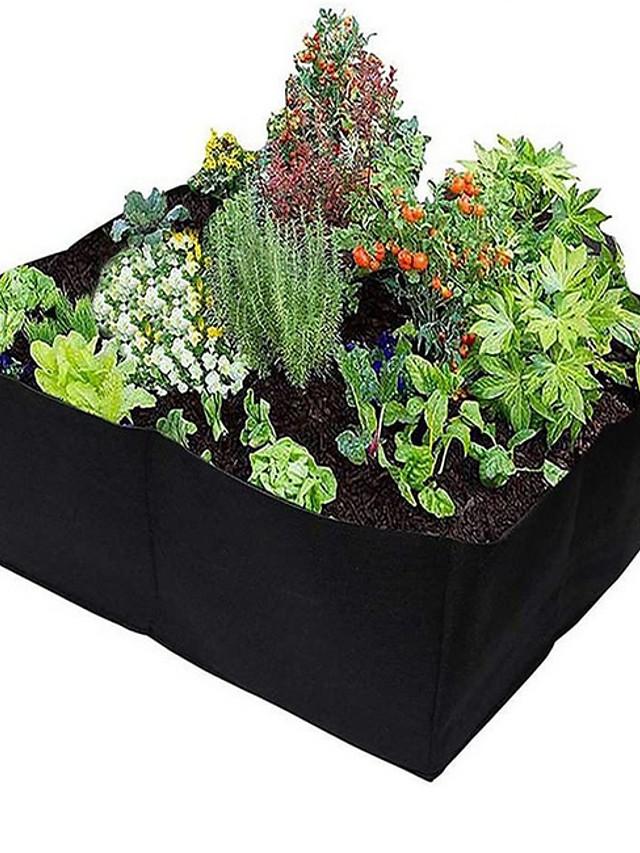 Non-woven Felt Planting Bag Garden Flower Pot Vegetable Planting Cultivation Cultivation Bag Farm Garden Supplies