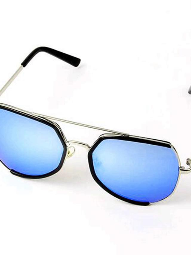 أسود / أزرق نظارات لون سادة أساسي للجنسين أطفال