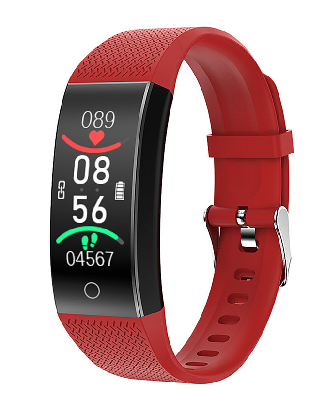 KUPENG QW18T Unisex Smartwatch Smart Wristbands Android iOS Bluetooth Waterproof Thermometer Media Control Exercise Record Health Care Pedometer Call Reminder Activity Tracker Sleep Tracker Sedentary