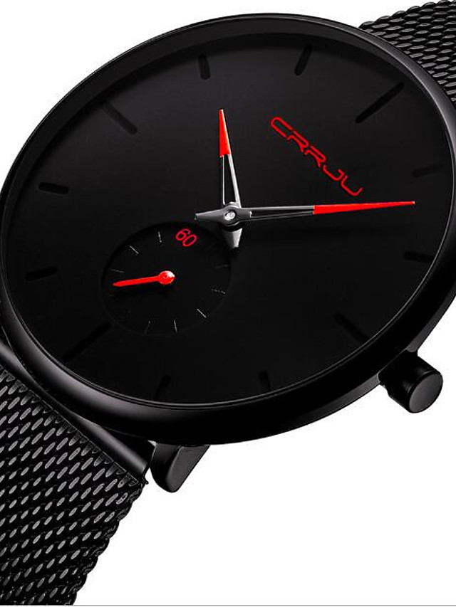 Women's Quartz Watches Quartz Stylish Fashion Casual Watch Black Analog - Blue Red Gold One Year Battery Life