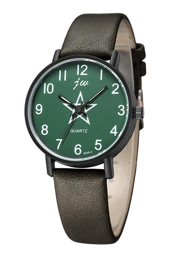 Women's Quartz Watches Quartz Stylish Fashion Casual Watch PU Leather Black / Blue Analog - White+Coffee Black Blue One Year Battery Life