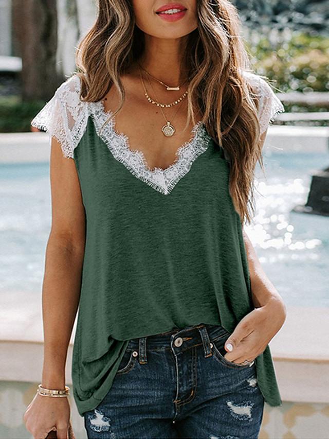 Women's Lace T-shirt