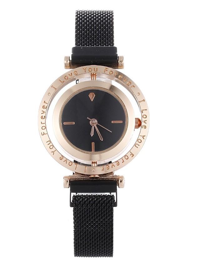 Women's Quartz Watches Quartz Stylish Fashion Casual Watch Rose Gold Analog - White Black Purple One Year Battery Life