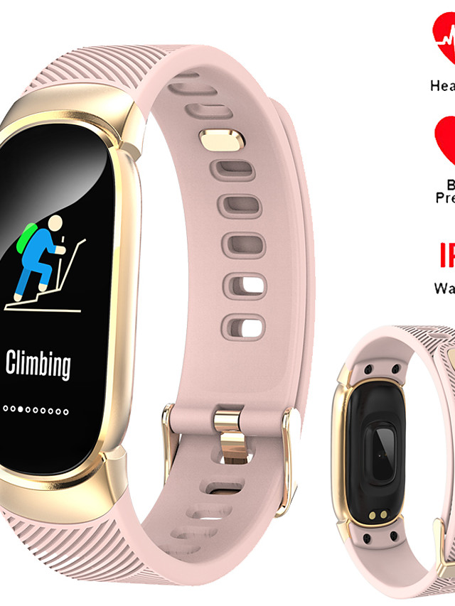696 QW16 Unisex Smart Wristbands Bluetooth Waterproof Heart Rate Monitor Blood Pressure Measurement Sports Information Pedometer Call Reminder Activity Tracker Sleep Tracker Sedentary Reminder