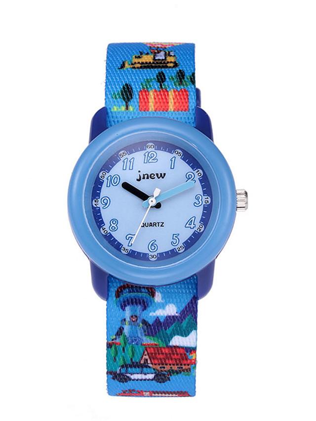 Kids Sport Watch Automatic self-winding Sporty Christmas Water Resistant / Waterproof Ocean Blue Analog - Blue