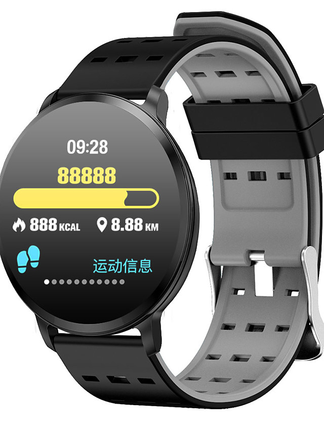 T8 Unisex Smart Wristbands Android iOS Bluetooth Touch Screen Heart Rate Monitor Blood Pressure Measurement Sports Calories Burned Stopwatch Pedometer Call Reminder Activity Tracker Sleep Tracker