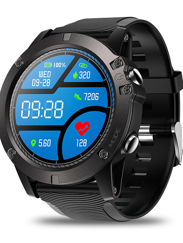 Zeblaze VIBE 3 pro Unisex Smartwatch Bluetooth Waterproof Touch Screen Heart Rate Monitor Blood Pressure Measurement Health Care Timer Pedometer Sedentary Reminder Alarm Clock Calendar
