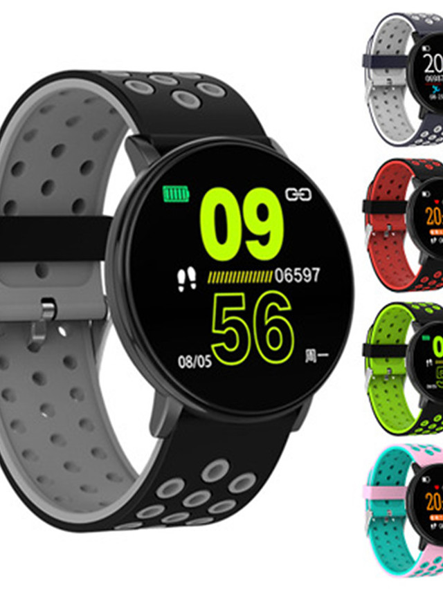 W8 Unisex Smartwatch Android iOS Bluetooth Touch Screen Heart Rate Monitor Blood Pressure Measurement Health Care Camera Control ECG+PPG Pedometer Sleep Tracker Sedentary Reminder Community Share