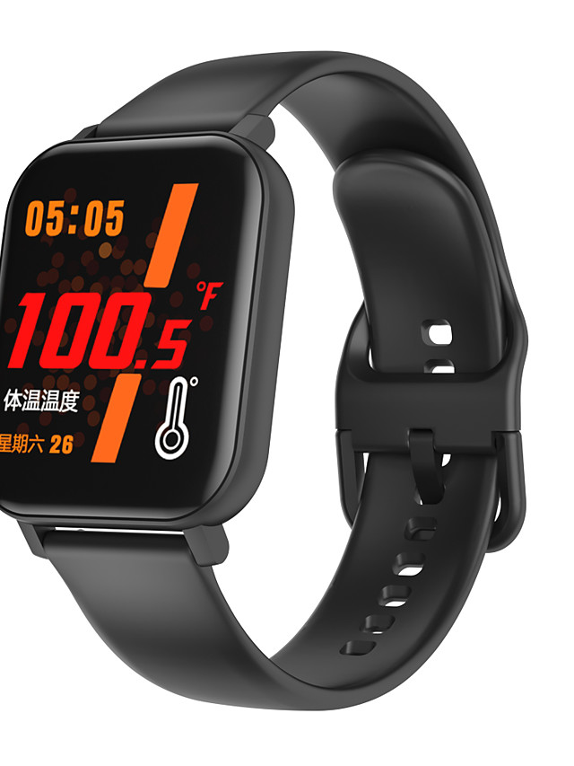 696 F25 Unisex Smartwatch Smart Wristbands Android iOS Bluetooth Touch Screen Heart Rate Monitor Blood Pressure Measurement Sports Thermometer Stopwatch Pedometer Call Reminder Sedentary Reminder