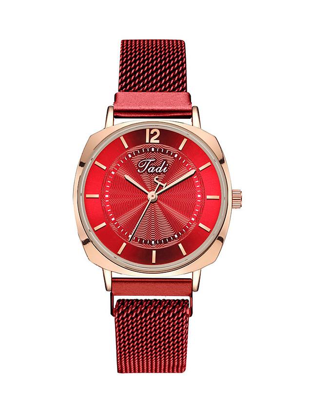 Women's Quartz Watches Quartz Stylish Fashion Adorable Silver Analog - Black Blue Red One Year Battery Life