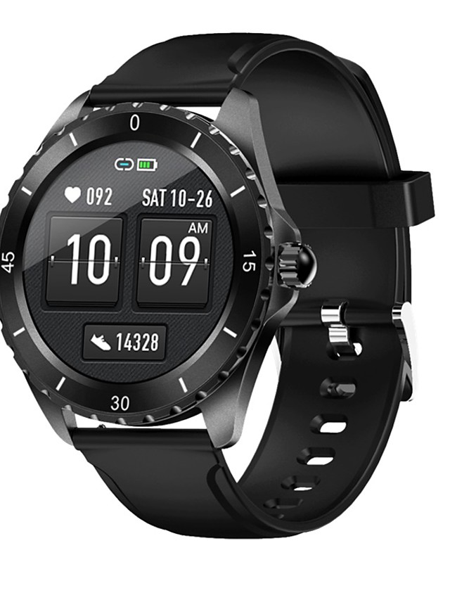 G81 Unisex Smartwatch Smart Wristbands Android iOS Bluetooth Waterproof Heart Rate Monitor Sports Health Care Information Stopwatch Pedometer Call Reminder Activity Tracker Sleep Tracker