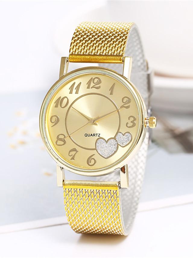 Women's Quartz Watches Quartz Stylish Fashion Casual Watch White Analog - White Gold One Year Battery Life