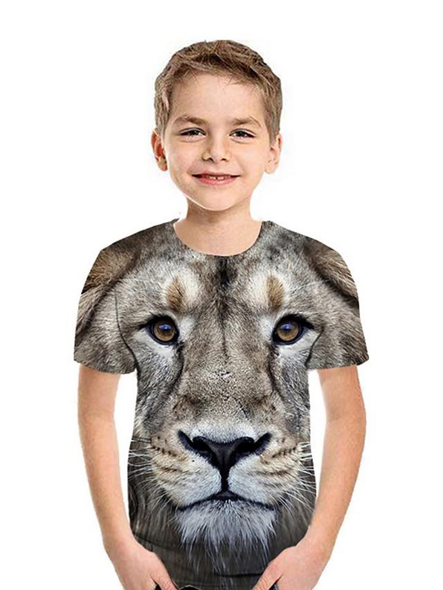 Kids Boys' Street chic 3D Short Sleeve Tee White