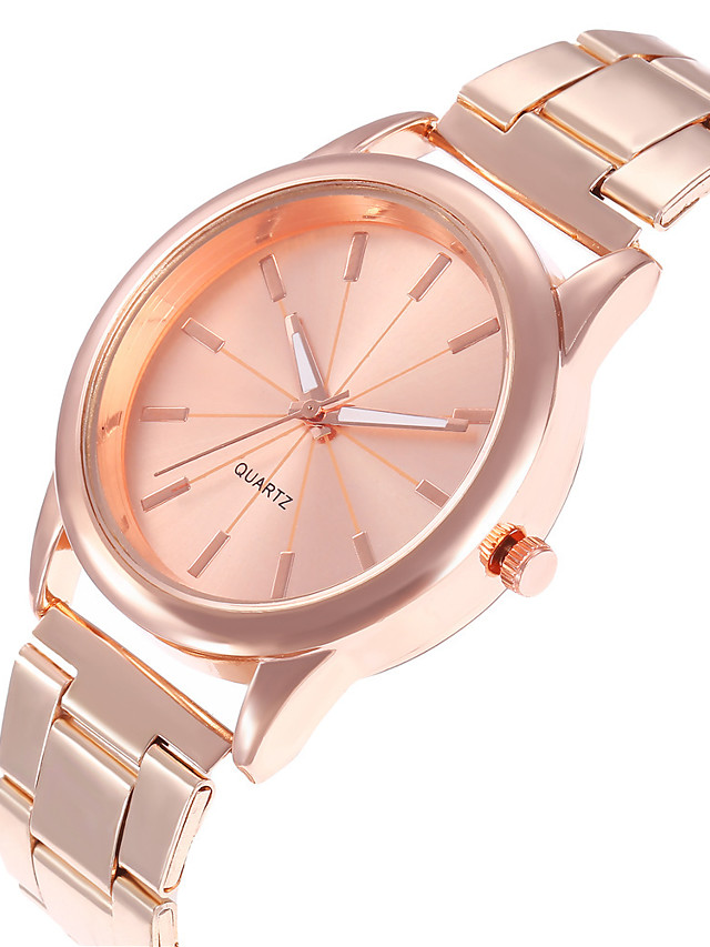 Women's Quartz Watches Quartz Stylish Fashion Casual Watch Silver / Rose Gold Analog - Rose Gold Gold Silver One Year Battery Life