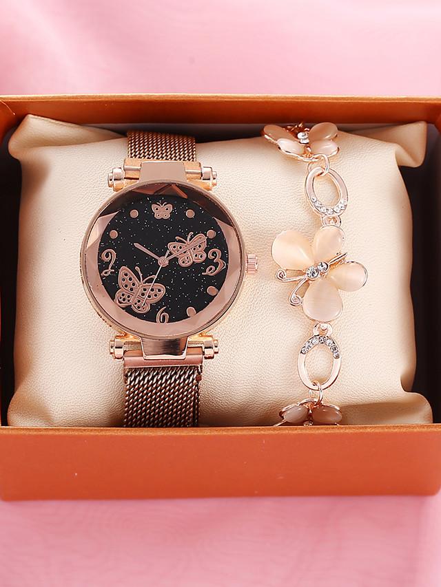 Women's Quartz Watches Quartz Vintage Style Stylish Classic Chronograph Brown Analog - Brown