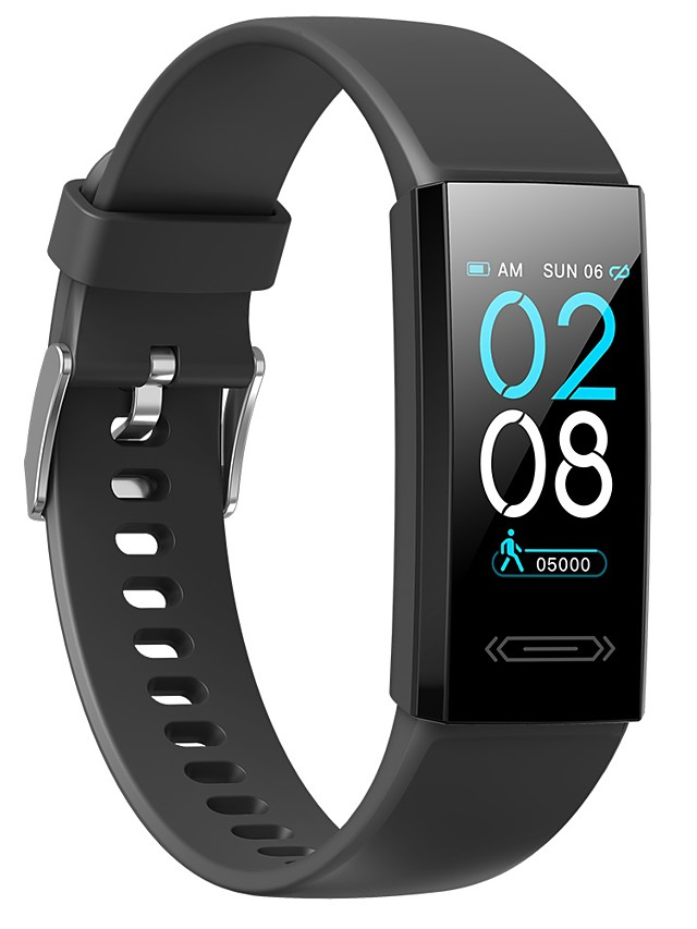 Temperature Monitoring Smart Watch V100s Unisex Smart Wristbands Android iOS Bluetooth Waterproof Heart Rate Monitor Blood Pressure Measurement Thermometer Camera Control Timer Stopwatch Pedometer
