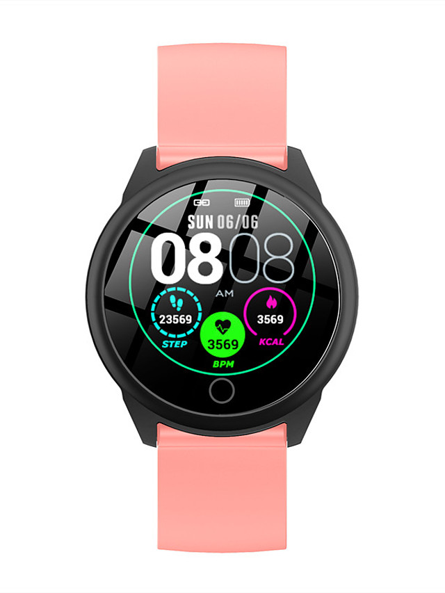 h23 Unisex Smart Wristbands Android iOS Bluetooth Touch Screen Heart Rate Monitor Blood Pressure Measurement Calories Burned Thermometer Stopwatch Pedometer Call Reminder Sleep Tracker Sedentary