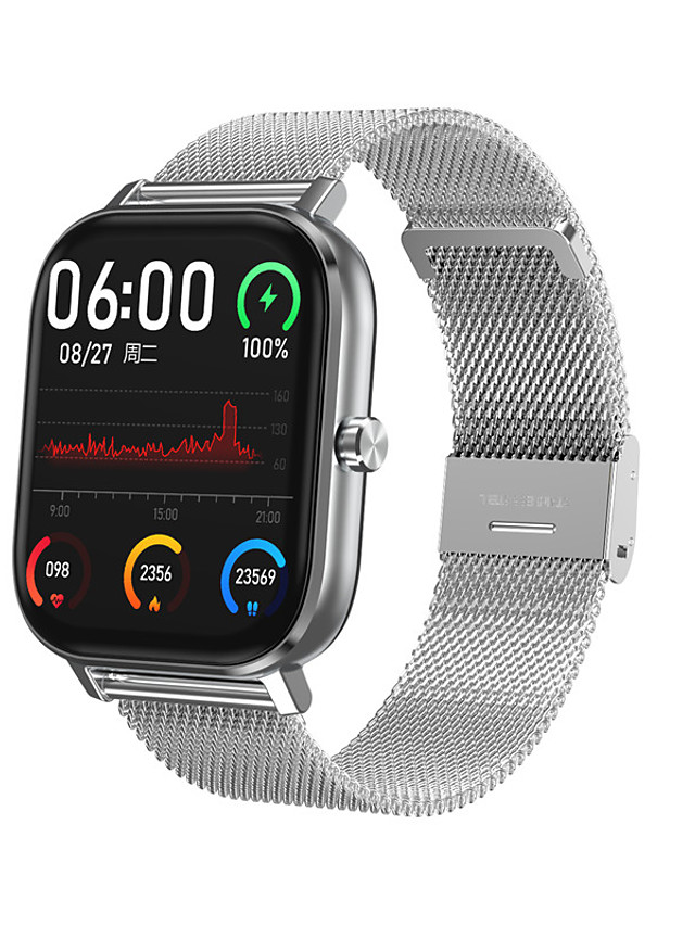 DT35 Unisex Smart Wristbands Bluetooth Waterproof Heart Rate Monitor Blood Pressure Measurement Calories Burned Long Standby Stopwatch Pedometer Call Reminder Sleep Tracker Sedentary Reminder