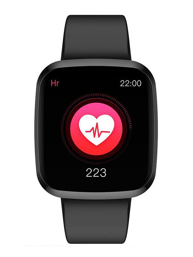 P3 Unisex Smart Wristbands Android iOS Bluetooth Heart Rate Monitor Blood Pressure Measurement Calories Burned Health Care Anti-lost Stopwatch Pedometer Call Reminder Sleep Tracker Sedentary Reminder