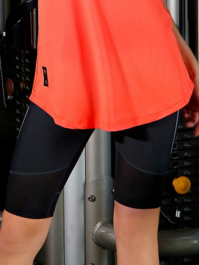Women's Yoga Basic Legging - Solid Colored Mid Waist Black XXS XS S