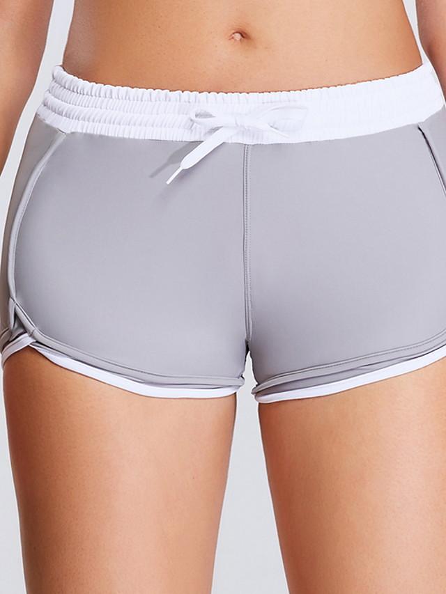 Women's Basic Legging - Solid Colored, Sporty Mid Waist Gray S M L / Slim