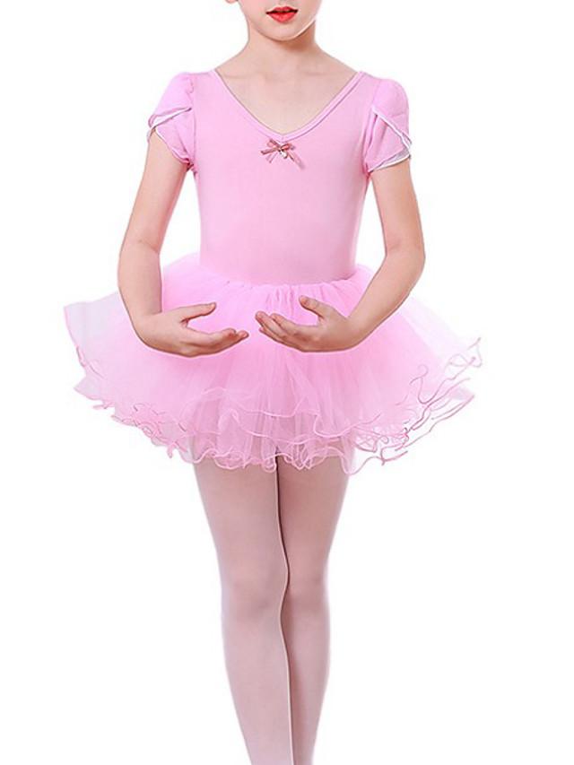 Kids Girls' Solid Colored Dress Blushing Pink