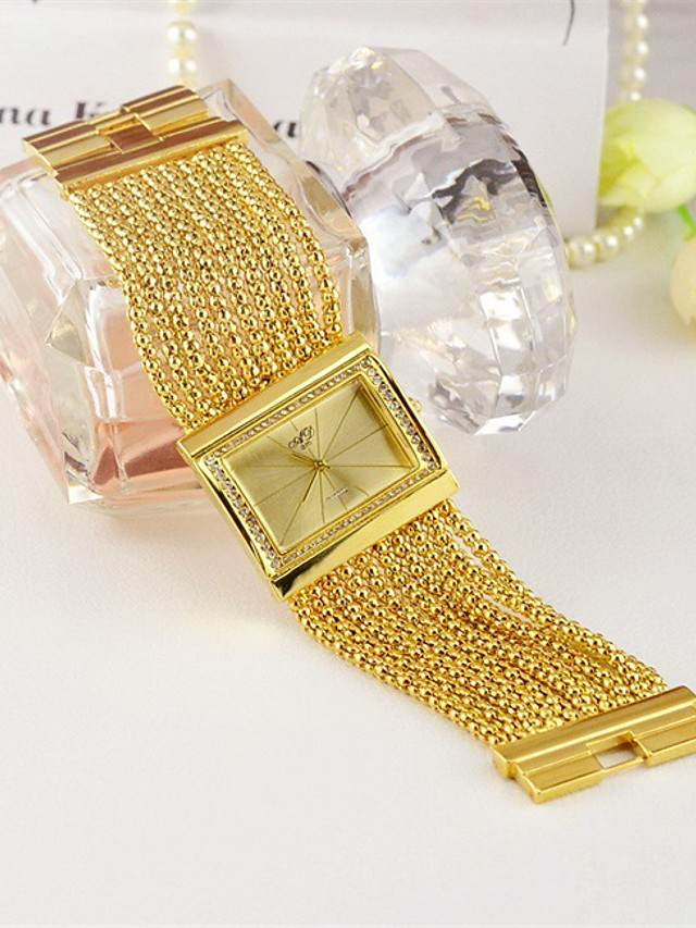 Women's Quartz Watches Quartz Stylish Fashion Adorable Gold Analog - Gold Silver One Year Battery Life