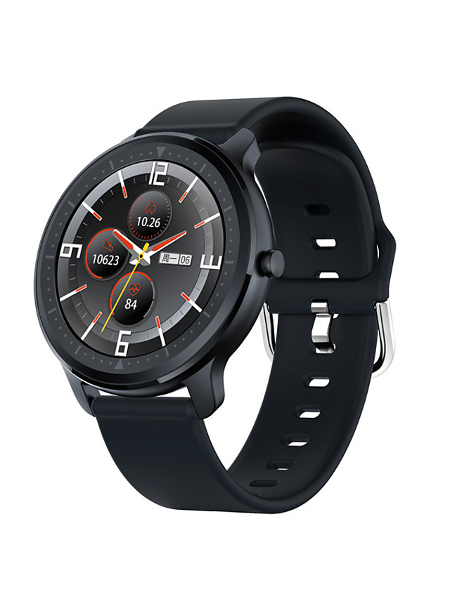 UM580 Unisex Smartwatch Bluetooth Heart Rate Monitor Blood Pressure Measurement Sports Calories Burned Health Care Pedometer Call Reminder Sleep Tracker Sedentary Reminder Find My Device