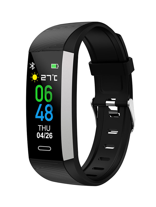 S03 Unisex Smart Wristbands Bluetooth Heart Rate Monitor Blood Pressure Measurement Sports Calories Burned Thermometer Pedometer Call Reminder Sedentary Reminder Find My Device Alarm Clock