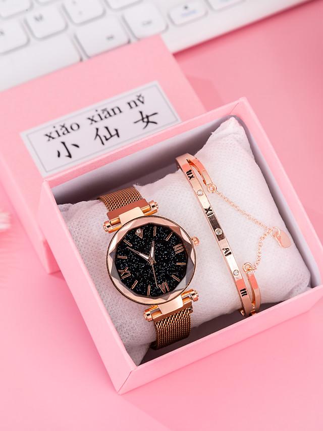 Women's Quartz Watches Quartz Modern Style Stylish Classic Chronograph Rose Gold Analog - Rose Gold