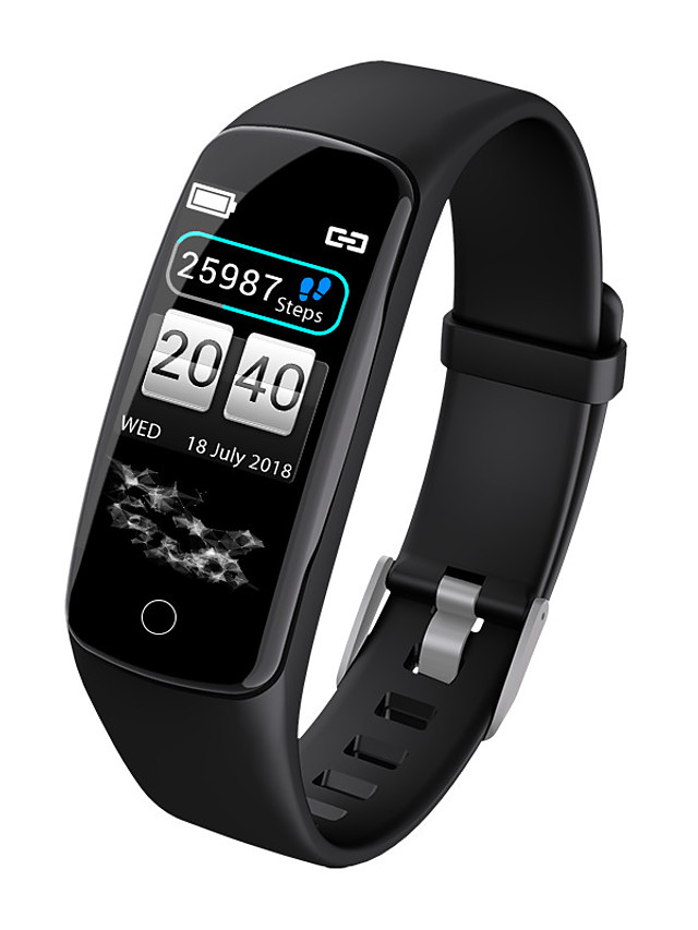 V8 Unisex Smart Wristbands Android iOS Bluetooth Heart Rate Monitor Sports Calories Burned Health Care Blood Oxygen Monitor Pedometer Call Reminder Sleep Tracker Sedentary Reminder Alarm Clock