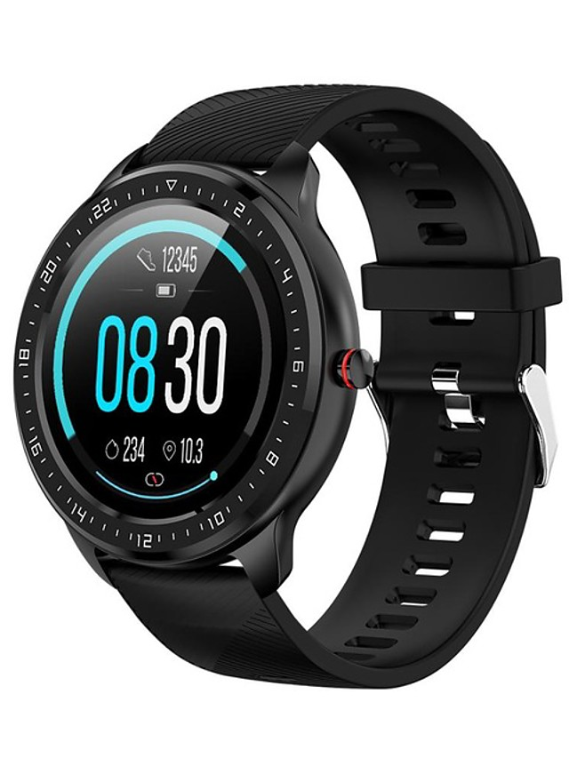 Z06 Unisex Smartwatch Android iOS Bluetooth Waterproof Heart Rate Monitor Blood Pressure Measurement Information Camera Control ECG+PPG Pedometer Sleep Tracker Sedentary Reminder Community Share