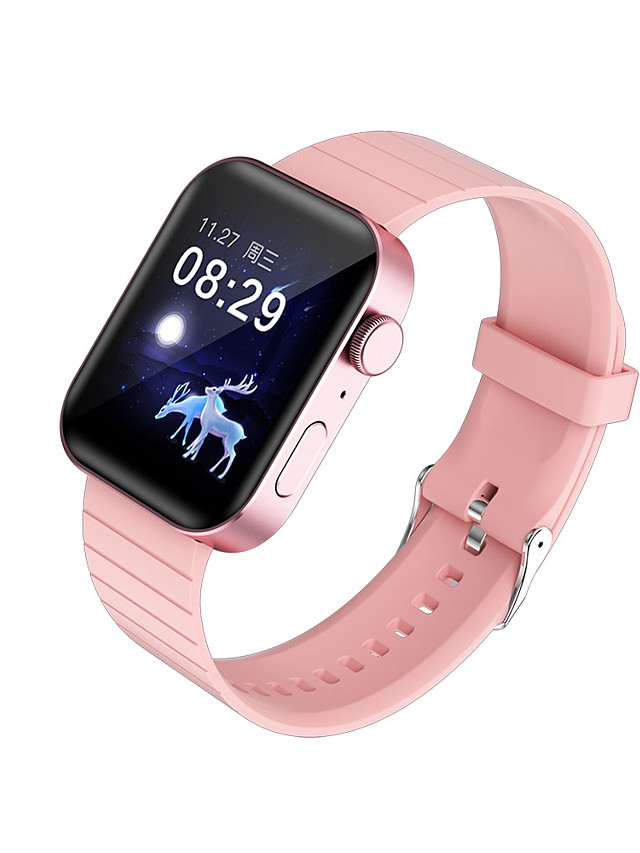 696 P40 Unisex Smartwatch Smart Wristbands Bluetooth Heart Rate Monitor Blood Pressure Measurement Sports Hands-Free Calls Information Call Reminder Activity Tracker Sleep Tracker Sedentary Reminder