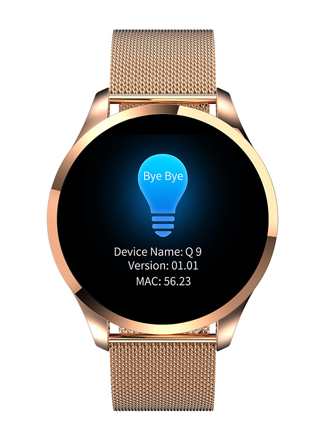 696 SB-Q9 Unisex Smartwatch Smart Wristbands Bluetooth Heart Rate Monitor Health Care Distance Tracking Female Physiological Cycle Blood Oxygen Monitor Pedometer Call Reminder Activity Tracker Sleep