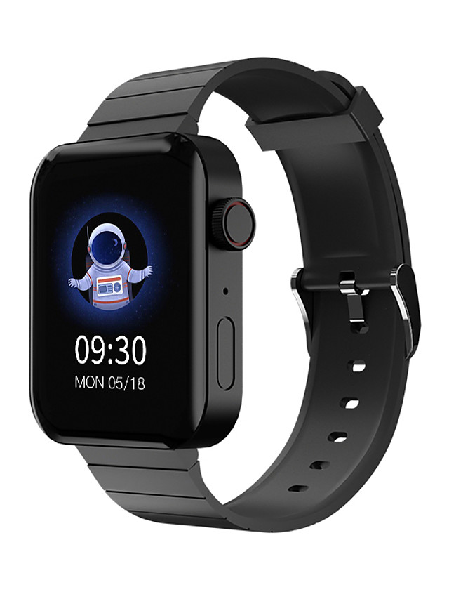 696 K70 Unisex Smartwatch Smart Wristbands Bluetooth Heart Rate Monitor Hands-Free Calls Health Care Distance Tracking Information Call Reminder Activity Tracker Find My Device Community Share