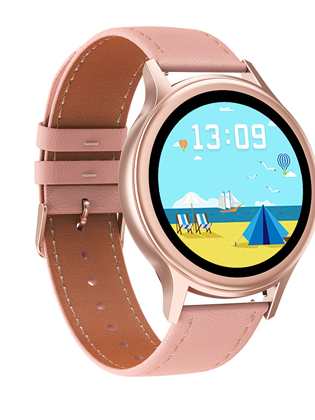 696 DT66 Women's Smartwatch Smart Wristbands Bluetooth Blood Pressure Measurement Sports Health Care Information Female Physiological Cycle Call Reminder Activity Tracker Sleep Tracker Find My Device