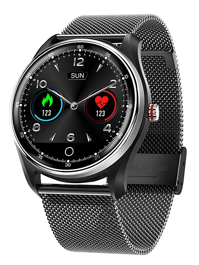 MX9 Men's Smartwatch Bluetooth Heart Rate Monitor Blood Pressure Measurement Calories Burned Long Standby Health Care ECG+PPG Stopwatch Pedometer Call Reminder Activity Tracker