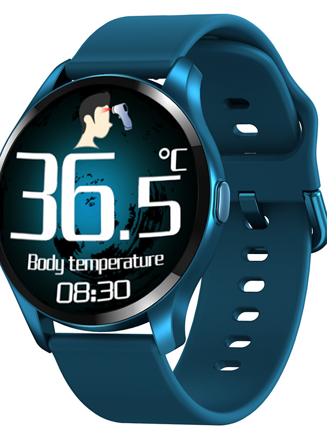 696 T88 Unisex Smartwatch Smart Wristbands Bluetooth Touch Screen Heart Rate Monitor Blood Pressure Measurement Thermometer Information Pedometer Call Reminder Sleep Tracker Sedentary Reminder Find