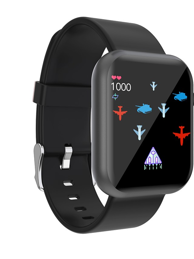 696 R3L Unisex Smartwatch Smart Wristbands Bluetooth Touch Screen Heart Rate Monitor Blood Pressure Measurement Sports Information Pedometer Sleep Tracker Find My Device