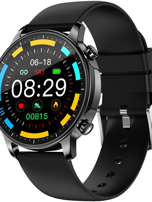 V23 Unisex Smartwatch Bluetooth Heart Rate Monitor Blood Pressure Measurement Sports Calories Burned Health Care Pedometer Call Reminder Sleep Tracker Sedentary Reminder Find My Device