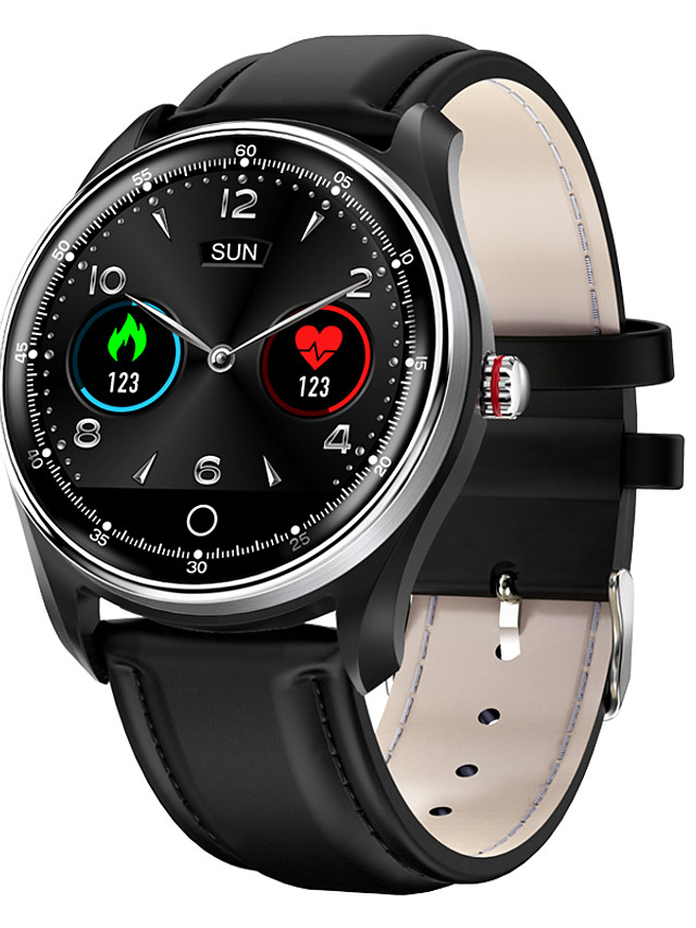 MX9 Men's Smartwatch Bluetooth Heart Rate Monitor Blood Pressure Measurement Calories Burned Long Standby Health Care ECG+PPG Pedometer Call Reminder Activity Tracker Sleep Tracker