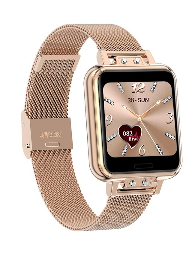 ZL13 Women's Smartwatch Bluetooth Heart Rate Monitor Blood Pressure Measurement Calories Burned Health Care Anti-lost Pedometer Call Reminder Sleep Tracker Sedentary Reminder Find My Device