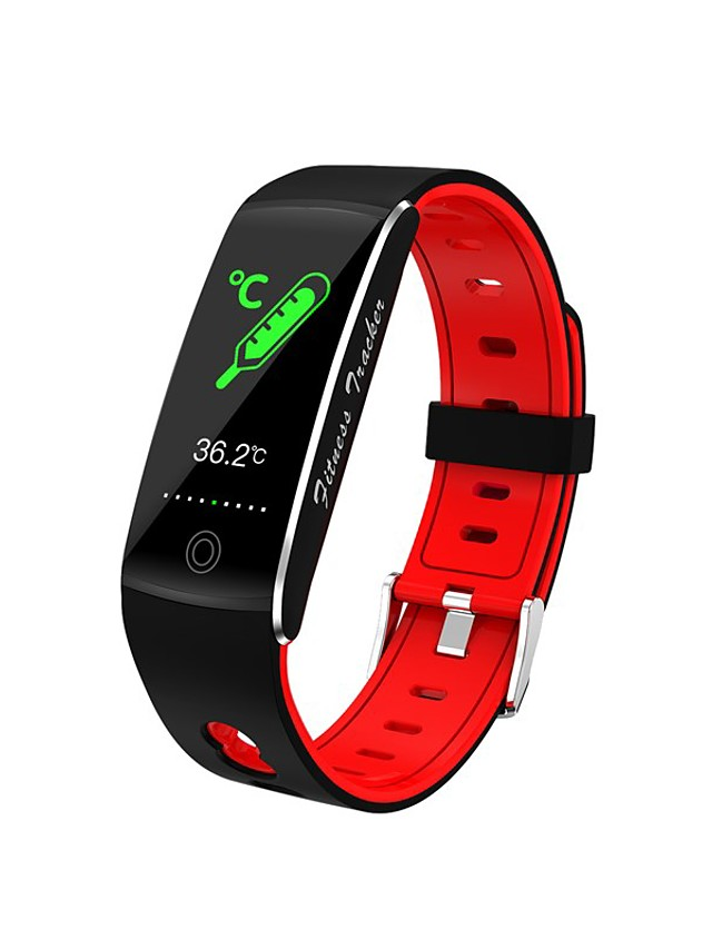 L10T Unisex Smartwatch Bluetooth Heart Rate Monitor Blood Pressure Measurement Calories Burned Thermometer Health Care Stopwatch Pedometer Call Reminder Sleep Tracker Sedentary Reminder