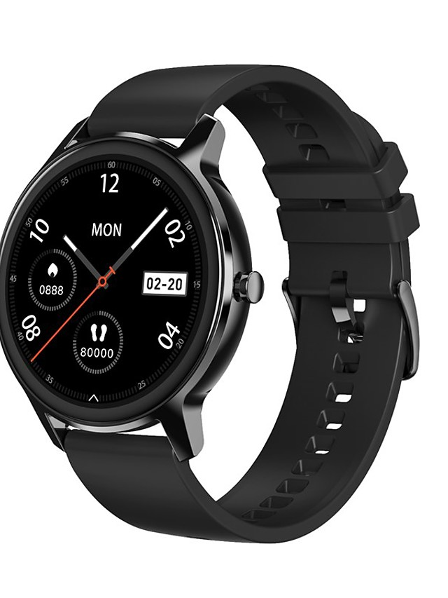 DT56 Unisex Smartwatch Bluetooth Heart Rate Monitor Blood Pressure Measurement Calories Burned Media Control Health Care Pedometer Call Reminder Sleep Tracker Sedentary Reminder Find My Device
