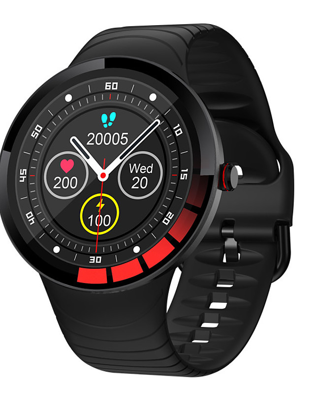 E3 Unisex Smartwatch Bluetooth Heart Rate Monitor Blood Pressure Measurement Calories Burned Long Standby Health Care Stopwatch Pedometer Call Reminder Sleep Tracker Sedentary Reminder