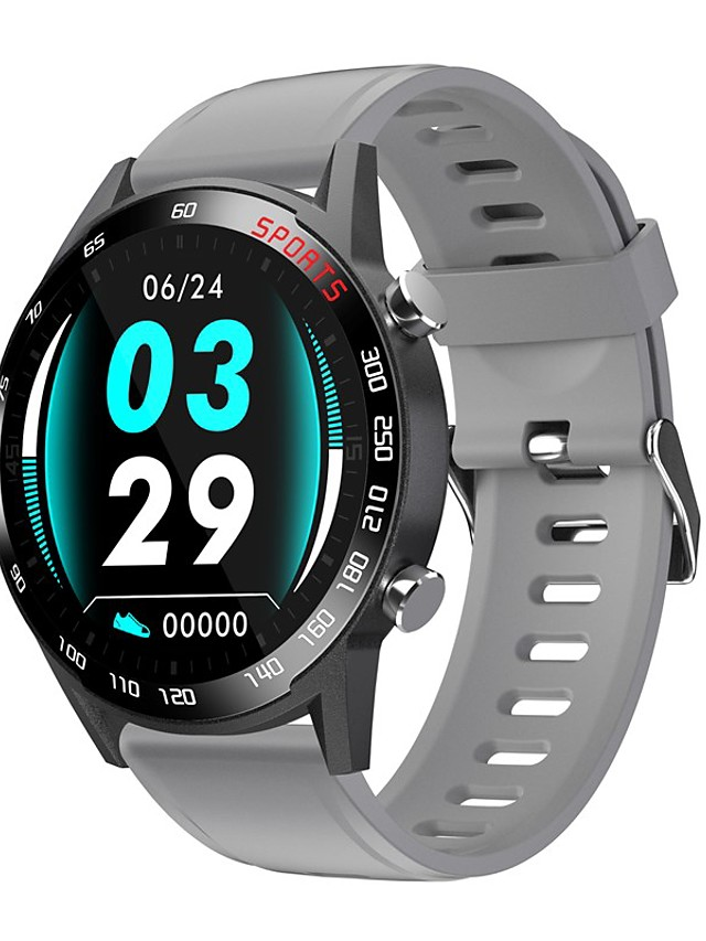 F23L Unisex Smartwatch Bluetooth Heart Rate Monitor Blood Pressure Measurement Sports Calories Burned Health Care Pedometer Call Reminder Sleep Tracker Sedentary Reminder Find My Device