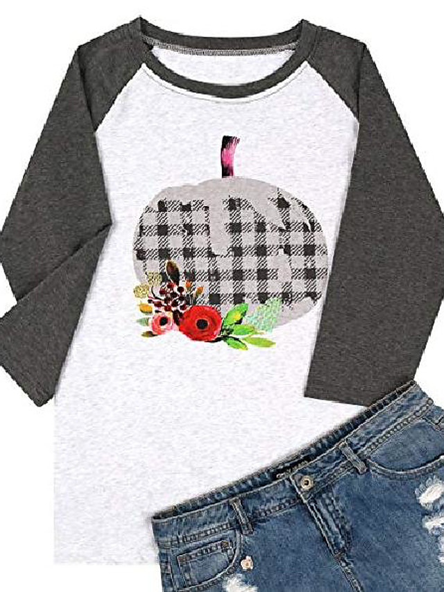 merry christmas shirts letter print truck graphic tee shirts long sleeve christmas tree baseball cute tops for women