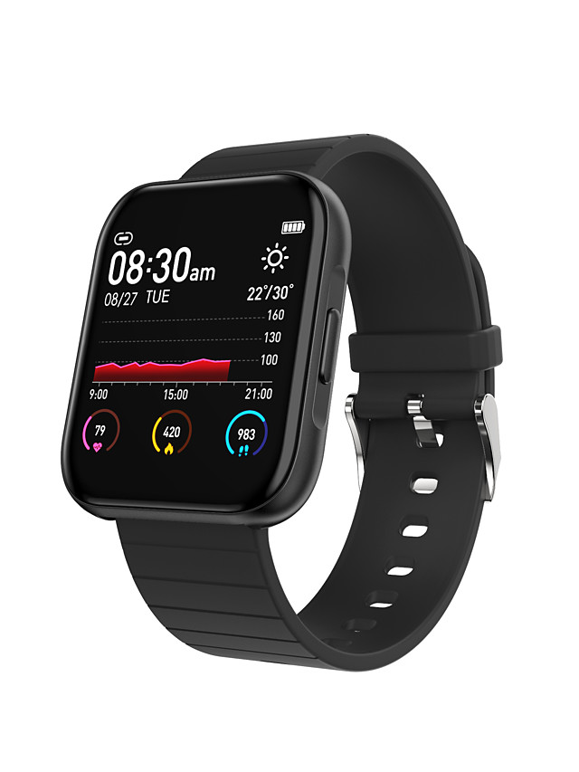 696 B20 Unisex Smartwatch Smart Wristbands Bluetooth Heart Rate Monitor Sports Calories Burned Health Care Message Control Stopwatch Pedometer Activity Tracker Sleep Tracker Find My Device