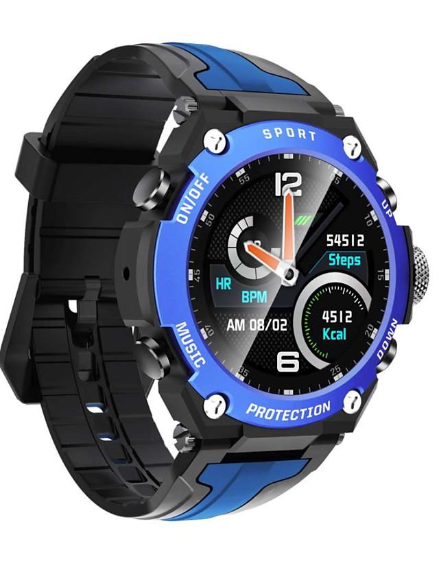 696 DK10 Men's Smartwatch Smart Wristbands Bluetooth Blood Pressure Measurement Sports Calories Burned Hands-Free Calls Health Care Pedometer Call Reminder Sleep Tracker Sedentary Reminder Find My